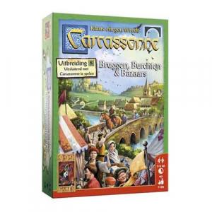 Carcassonne: Bruggen, Burchten en Bazaars