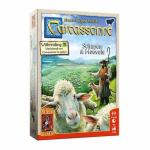 Carcassonne: Schapen & Heuvels