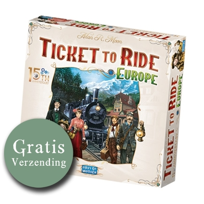 Ticket to ride Europe (15th anniversary deluxe)