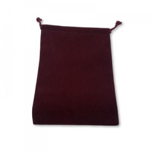 Dice bag: Burgundy Large