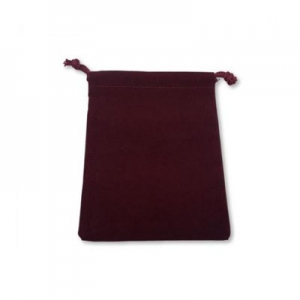 Dice bag: Burgundy Small